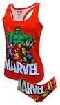 Marvel Comics Avengers Racer Back Tank & Panty Set for women