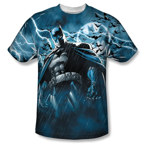 Batman Stormy Knight Sublimated Adult T-Shirt