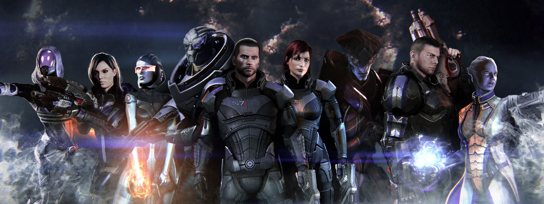 Mass Effect Video Game Characters