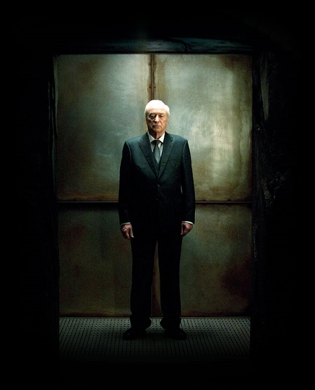Michael Caine as Alfred Pennyworth