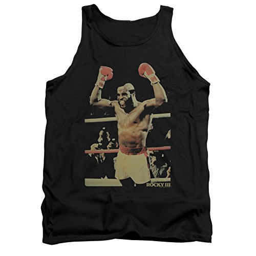 Rocky III Sports Boxing Action Movie Clubber Mr. T Adult Tank Top Shirt