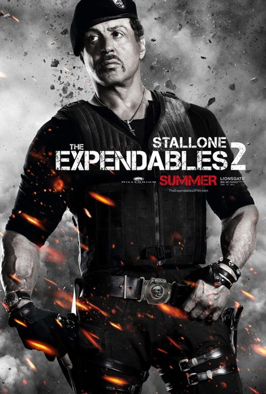 Sylvester Stallone as Barney Ross: The Expendables ...