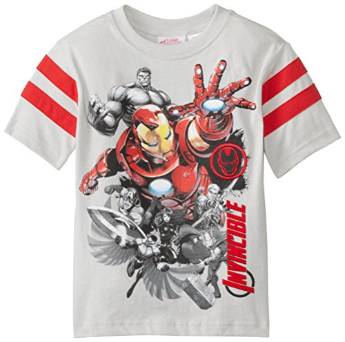 Marvel Little Boys' Iron Man Invinsible T-Shirt