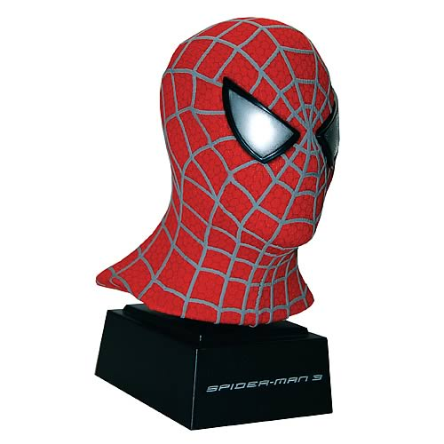 Spider-Man 3: Movie Red Mask Scaled Replica