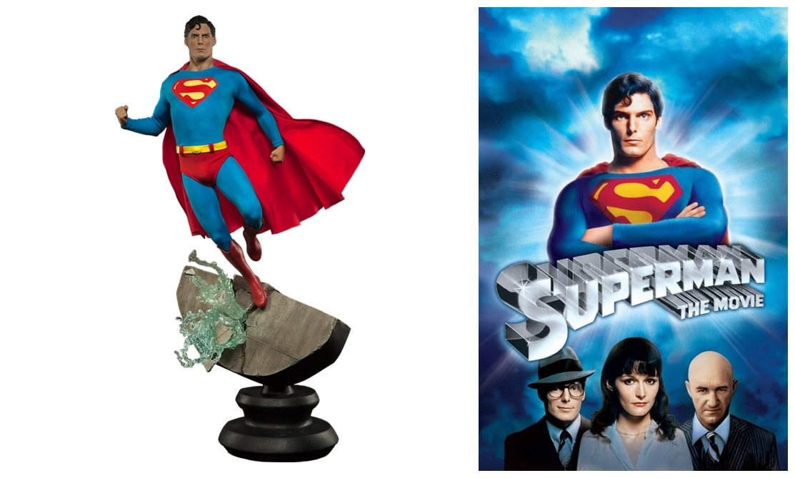Christopher Reeve as Superman / Clark Kent: Superman 1978 Movie Collectible Figure Statue
