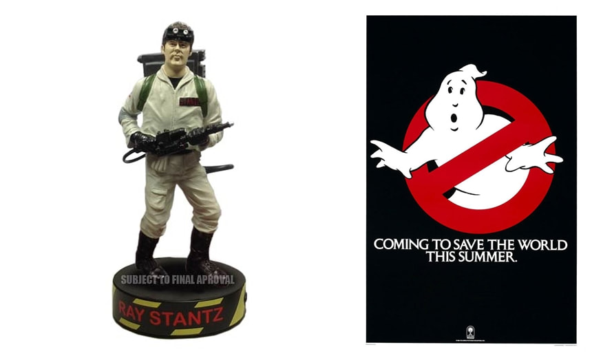 Dan Aykroyd as Ray Stantz: Ghostbusters Movie Collectible Figure Statue