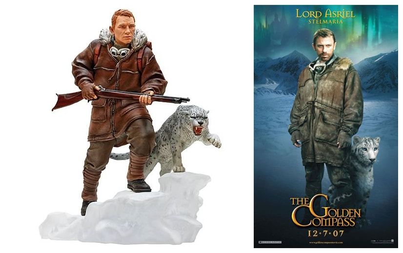 Daniel Craig as Lord Asriel: The Golden Compass Collectible Figure Statue