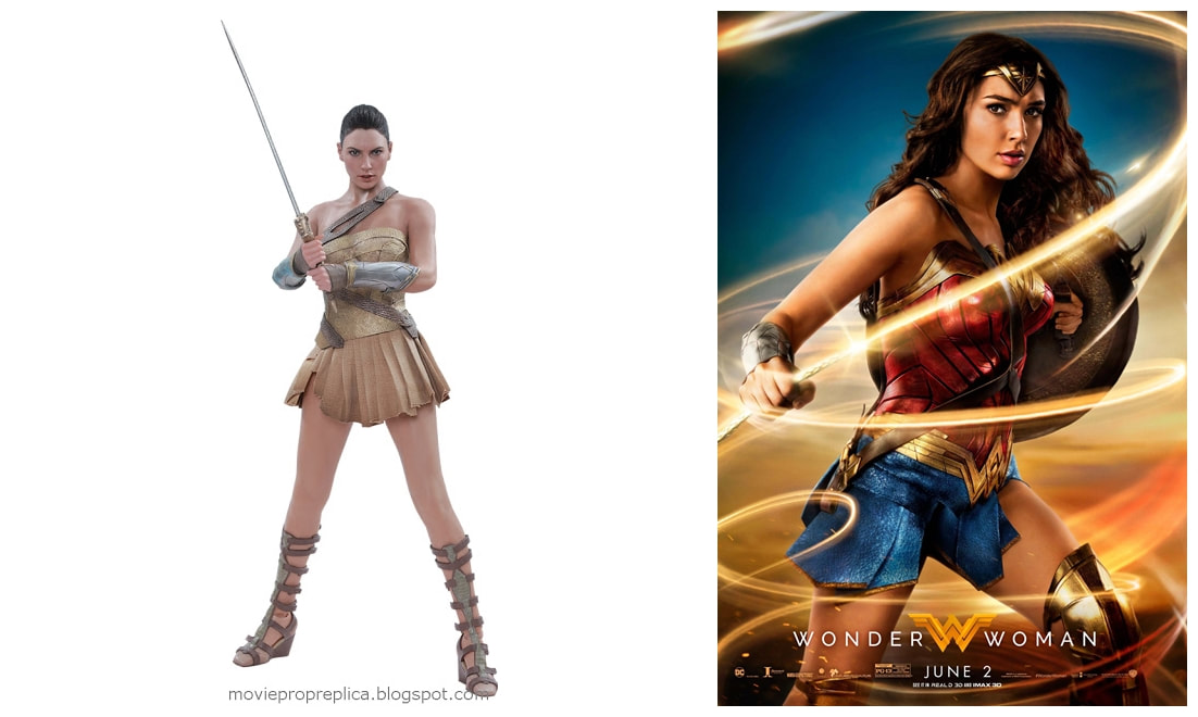 Gal Gadot as the Amazonian Princess Diana: Wonder Woman Movie Collectible Figure
