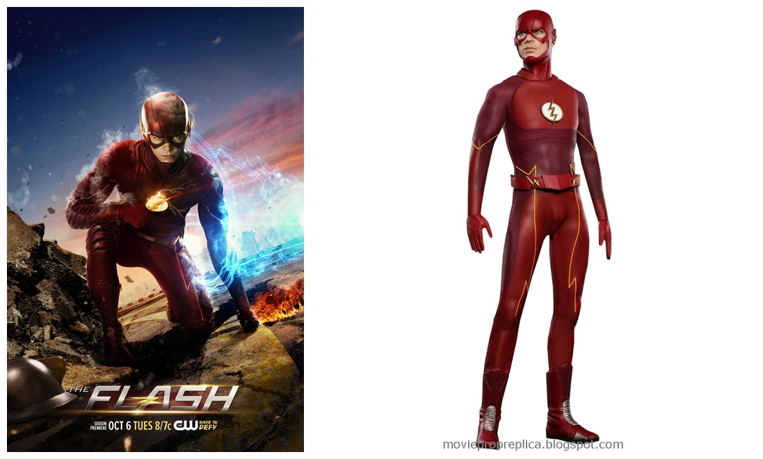 Grant Gustin as The Flash / Barry Allen: The Flash (Season 2) Collectible Figure