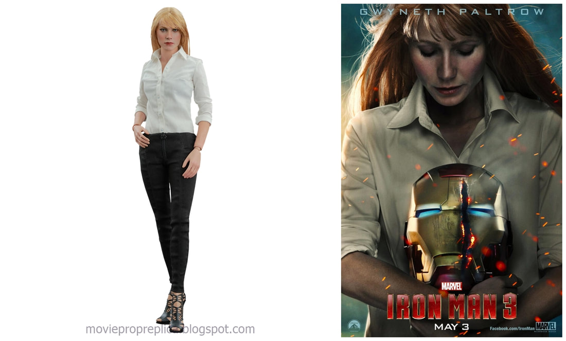 Gwyneth Paltrow as Pepper Potts: Iron Man 3 Movie Collectible Figure