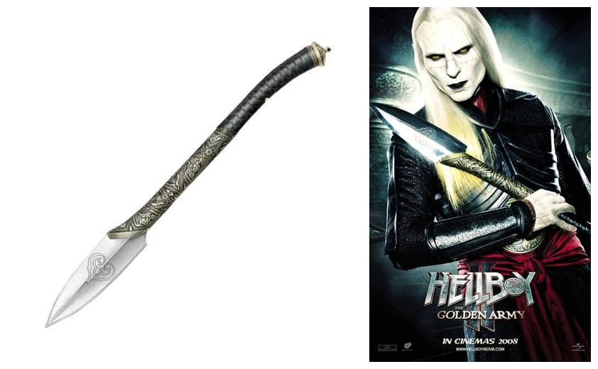 Hellboy II: The Golden Army: Prince Nuada's Spear Prop Replica