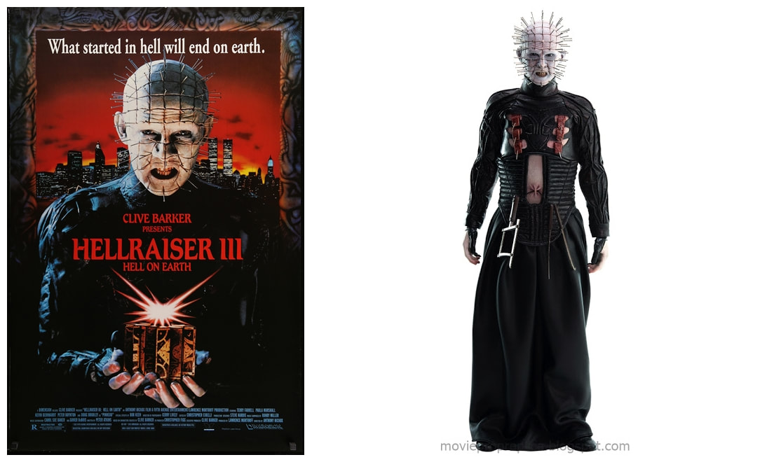 Hellraiser III: Hell on Earth: Pinhead Movie Collectible Figure