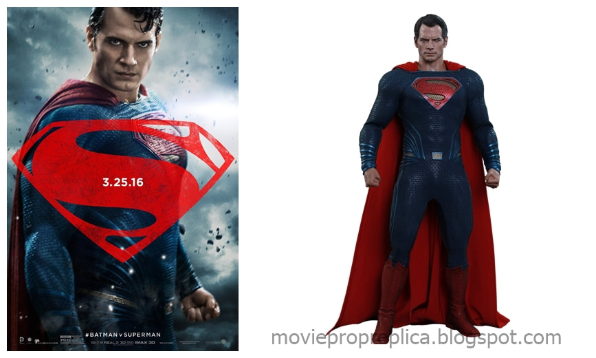 Henry Cavill as Clark Kent / Superman: Batman v Superman: Dawn of Justice Movie Collectible Figure