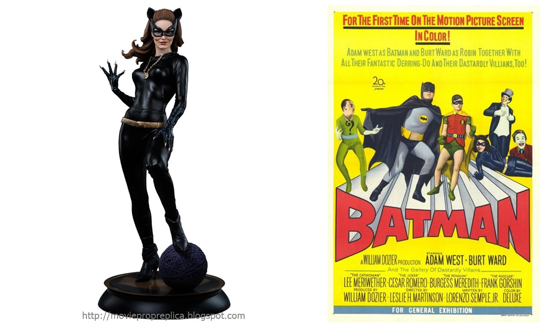 Julie Newmar as Catwoman: Batman (1960s TV Series) Collectible Figure Statue