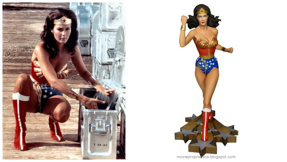 Lynda Carter as Wonder Woman: The New Adventures of Wonder Woman TV Series Collectible Figure Statue