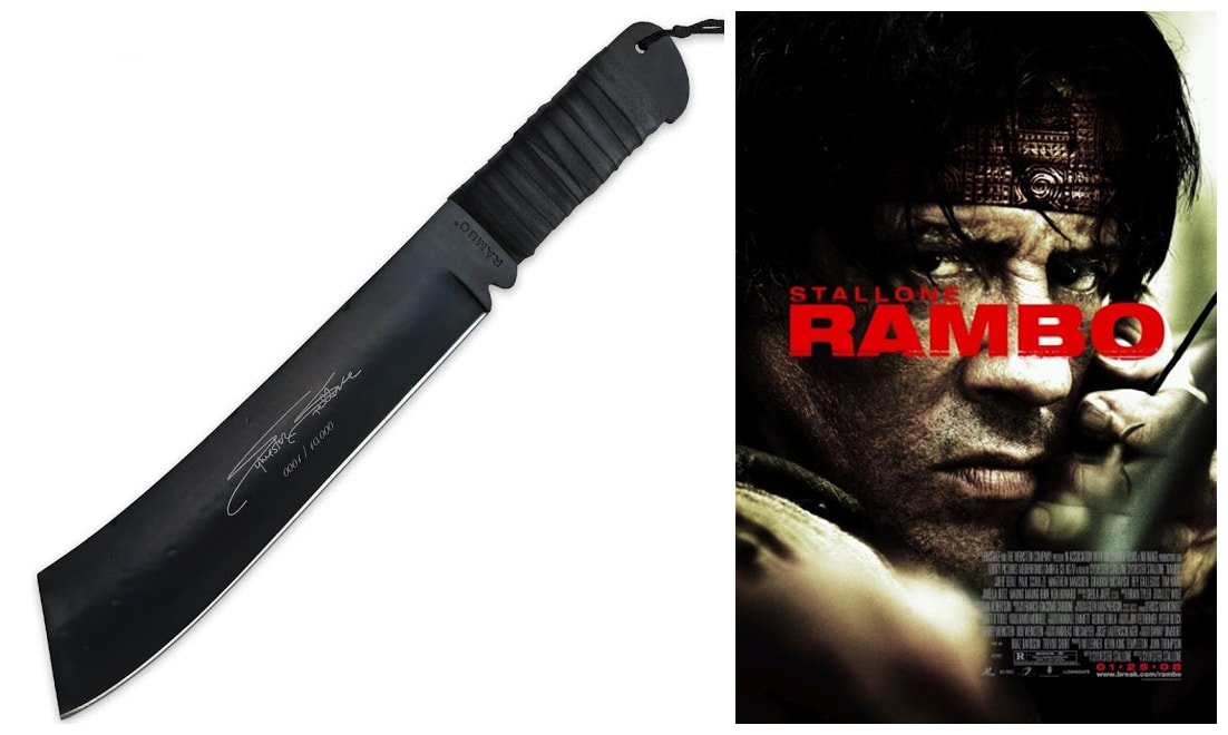 Rambo Knives Masterpiece Collection: Rambo IV Knife