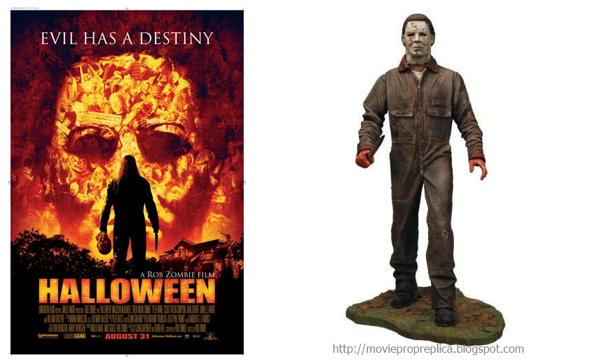 Rob Zombie's Halloween 2007: Michael Myers Action Figure with Sound