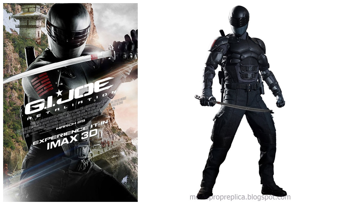 G.I. Joe: Retaliation: Snake Eyes Movie Collectible Figure